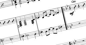 Notové materiály a základy ke skladbám z archivu Bon Art Music, SE